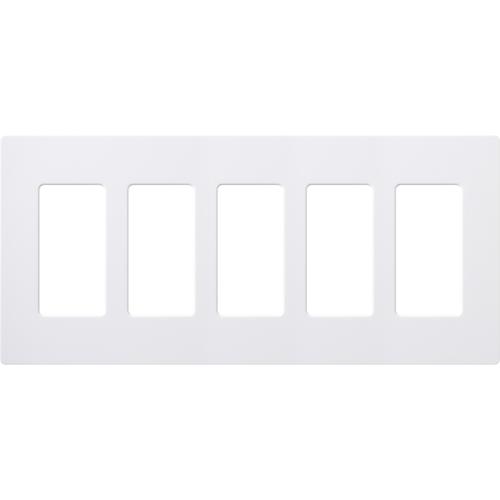 Lutron CW-5 Five-Gang Wallplate