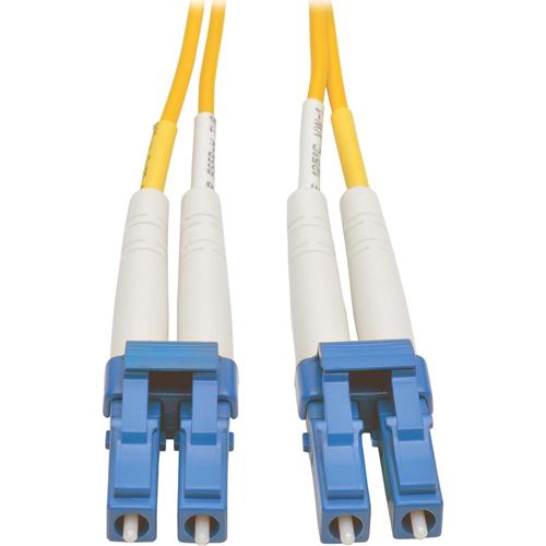 Tripp Lite - Patch cable - LC single mode (M) - LC single mode (M) - 50 m - fiber optic - 8.3 / 125 micron - yellow
