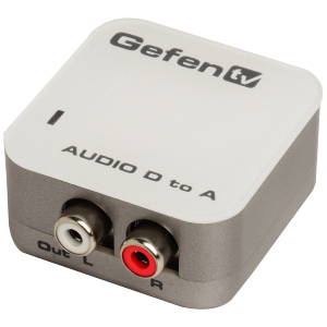 GEFEN TV DIGITAL AUDIO ANALOG ADPTR NIC
