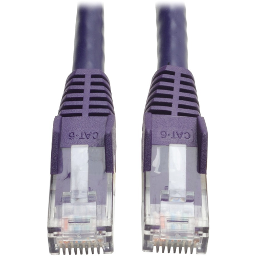 Tripp Lite - Patch cable - RJ-45 (M) - RJ-45 (M) - 2.1 m - UTP - ( CAT 6 ) - purple