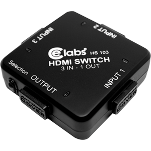 Celabs Hs103 3-in, 1-out Auto Hdmi(tm) Switcher