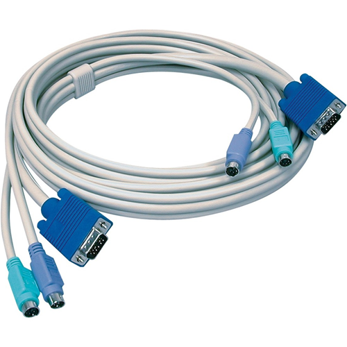 10 Feet KVM Cable (male-to-male)