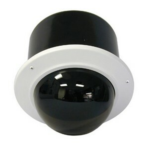 7IN VANDAL RESIST OUTDR RECESS DOME HSG TINT DOME