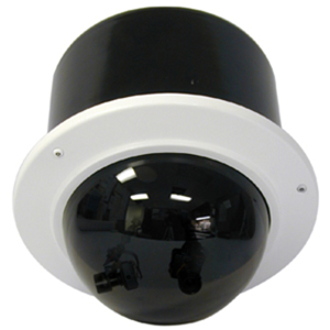 7IN VANDL DOME CAM SYS W/ RECESS CEIL MNT TINT DOM