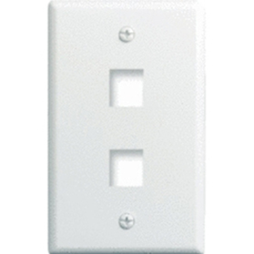 Legrand-On-Q (WP3402-WH-25) Faceplate & Mounting Box