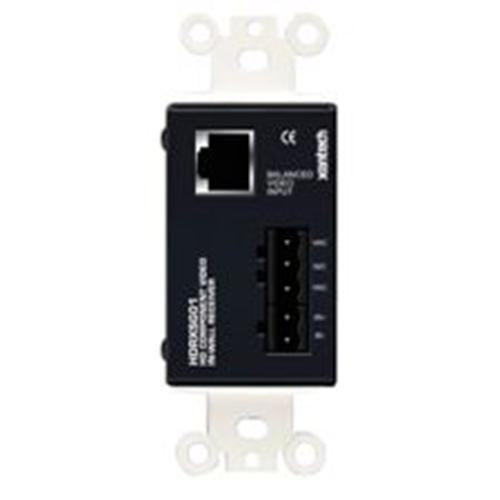 HD single gang cat5 receiver box