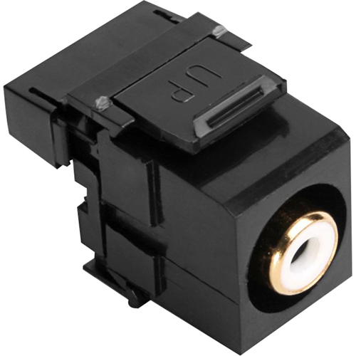 Leviton QuickPort RCA 110-Type - modular insert
