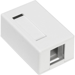 Leviton QuickPort Surface Mount Housing - modular insert housing