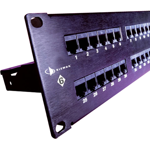 Siemon HD 24 Port Network Patch Panel