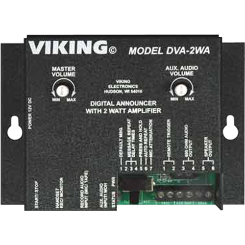 Viking Digital Voice Announcer with Built-In Amplifier