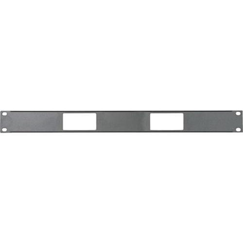 Middle Atlantic Panel, 1 RU, Accepts 2 Decora Devices