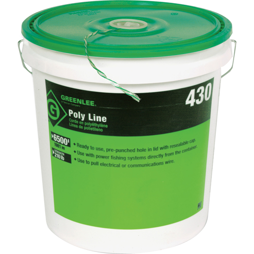Greenlee Poly Line 6500'