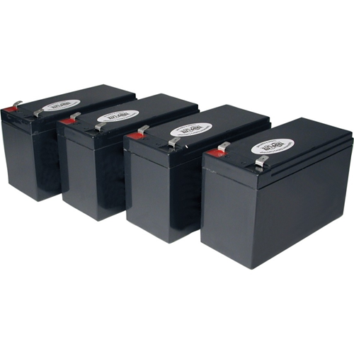 Tripp Lite UPS Replacement Battery Cartridge Kit for select UPS Brands with (4) 12V Batteries
