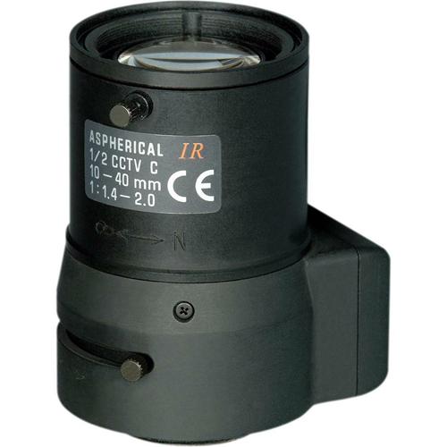 Tamron 12VG1040ASIR-SQ IR Aspherical DC Iris Zoom Lens