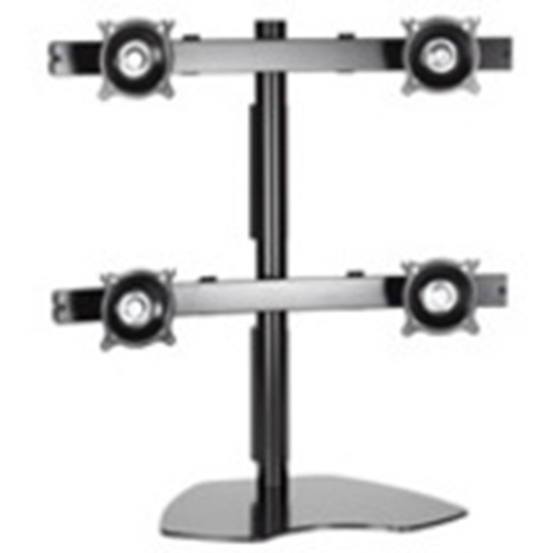 Chief KTP440B Quad Monitor Table Stand