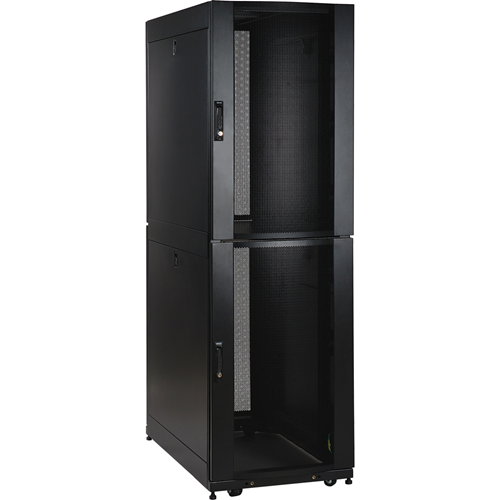 Tripp Lite 42U Rack Enclosure Server Cabinet Co-Location w/ Doors & Sides
