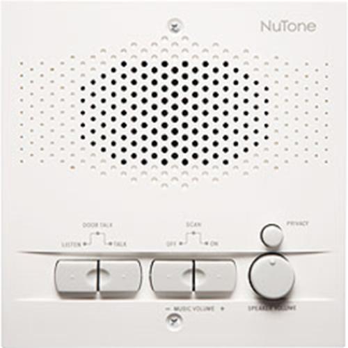 NuTone NRS200WH Intercom Sub Station