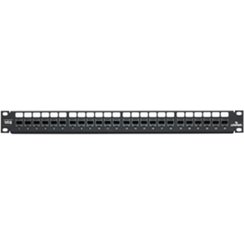 Leviton GigaMax 5E 5G270-U24 Cat5e QuickPort 24-Port Network Patch Panel