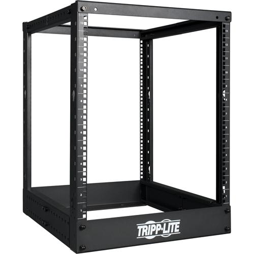 Tripp Lite 13U 4-Post Open Frame Rack Cabinet Square Holes 1000lb Capacity