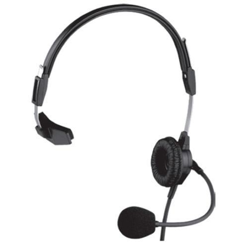 PH88-IC3 Single-Sided Lightweight Headset w/ Flexible Dynamic Boom Mic (1/8 Split Feed Cord For IC-W