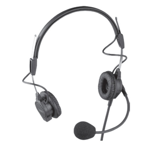 PH-44-IC3 Lightweight Dual-Sided Headset w/ Flexible Dynamic Boom Mic (9' (2.7M) Cord with 1/8 Inch