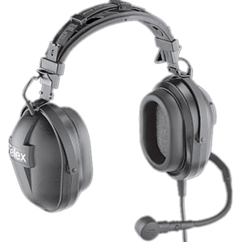 PH-10R Dual-Sided 24dB NRR Headset (A4M-4 Pin Male Connector)