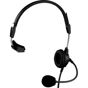PH-88 Single-Sided Lightweight Headset w/ Flexible Dynamic Boom Mic (A4F-4 Pin Female Connector)