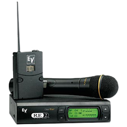 RE2-N7 Handheld Wireless System with N/D 767a Supercardioid Dynamic Microphone