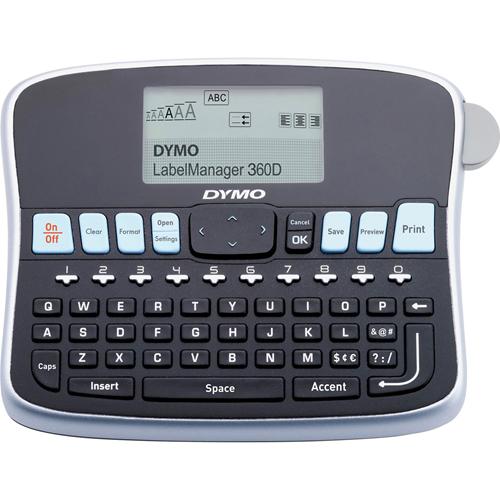 "Desktop Label Maker,2 Print Lines,7-3/4""x5-7/8""x2-3/4"",BKSR"