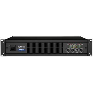 QSC CX204V Amplifier - 600 W RMS