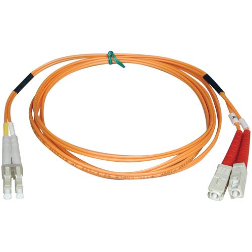 1M duplex MMF cable LC/SC 50/125 fiber
