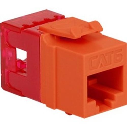 ICC Cat 6 HD Modular Connector, Orange