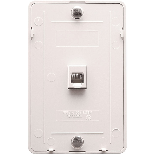 ICC (IC630DB6WH) Faceplate & Mounting Box