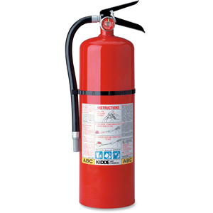 Kidde Pro 20 MP Fire Extinguisher - Dry - 18 lb Capacity - A: Common Combustibles, B: Flammable Liquids, C: Live Electrical Equipment - Corrosion Resistant, Powder Coated, Safety Pin, Rechargeable, Impact Resistant