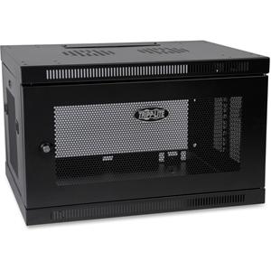 Tripp Lite 6U Wall Mount Rack Enclosure Server Cabinet w/ Door & Side Panels