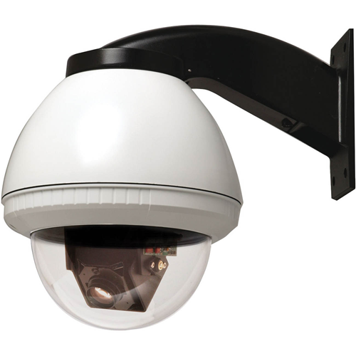 7IN OUTDOOR FUSIONDOME PTZ CAM PERPSYS W/36X DAY NIGHT CAM WALL