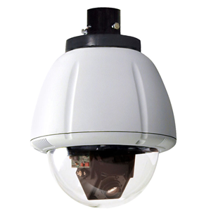 7IN OUTDOOR VANDAL RESISTANT PERPRUGGED DOME PTZ CAM SYS W/36X