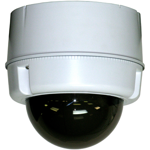 COMPACT OUTDOOR SURFACE MOUNT PERPDOMEPOE PLUS ENABLED IP PTZ