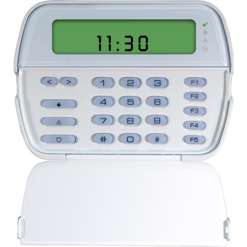 64 zone picture icon LCD kypd Powerserie