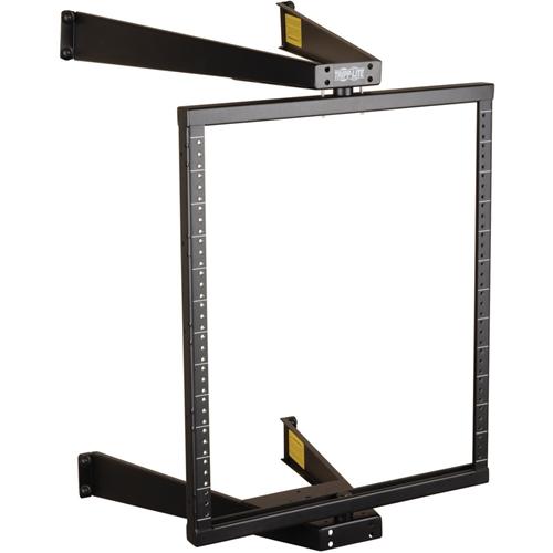 Tripp Lite 12U Wall Mount Pivoting 2-Post Open Frame Rack Cabinet Hinged