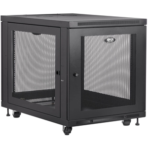 Tripp Lite 12U Rack Enclosure Server Cabinet Doors & Sides 300lb Capacity