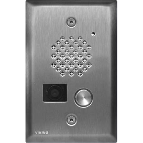 Viking Electronics E-50-SS-EWP Video Entry Phone-Stainless St