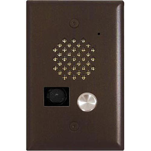 Viking Electronics E-50-BN-EWP Video Entry Phone -Bronze with