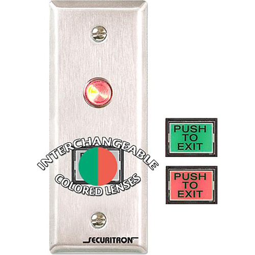 Securitron PB3N Push Button