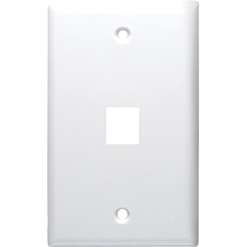 DataComm 20-3001-WH Keystone Faceplate