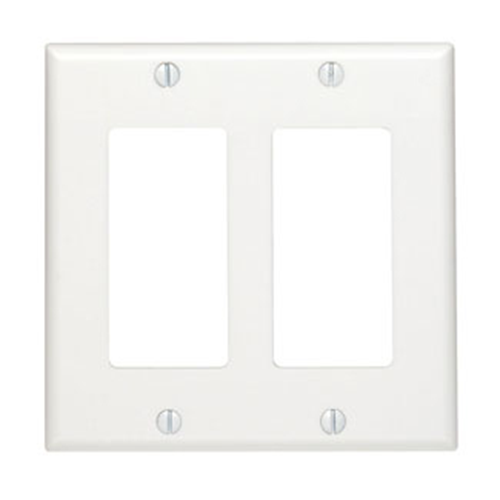 Leviton (80409-00W) Faceplate & Mounting Box