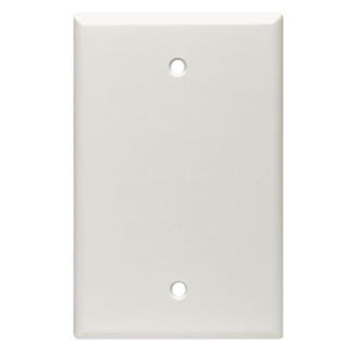 Leviton 80514-W Single Gang Blank Faceplate