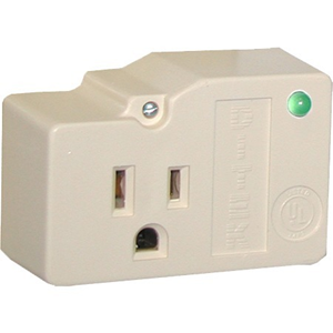 DITEK DTK-1F 1-Outlet Surge Suppressor