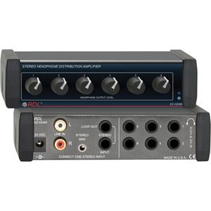 RDL EZ-HDA6 Audio Distribution Amplifier