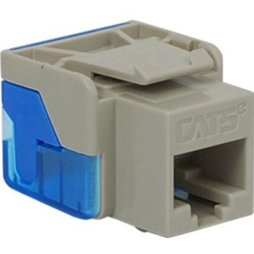 ICC Cat 5e, EZ, Modular Connector, Gray
